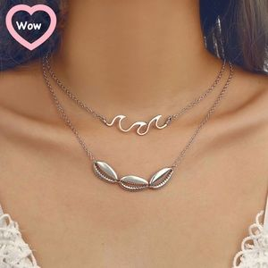Wave & Shells Necklace